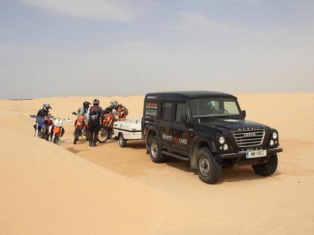 S Camp-letko po puščavi