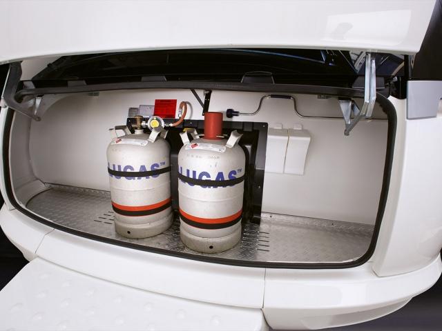 Najlažja je ALU plinska posoda