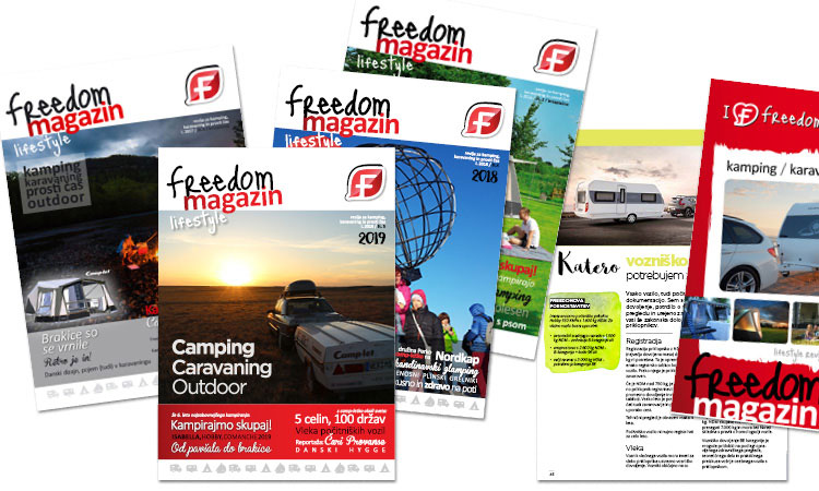 katalog kamping caravaning outdoor opreme in revija freedom magazin freedom center 2019 2