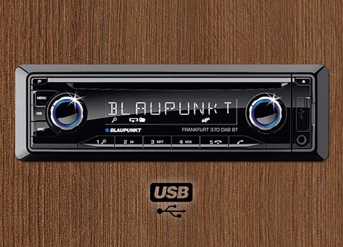 Audio sistem Blaupunkt 1.4 z zmogljivim ojačevalcem zvoka