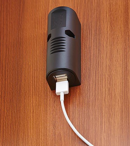 USB polnilna postaja
