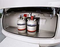 PREMIUM prostor za plinske jeklenke