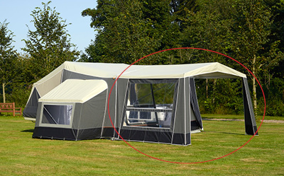 camp let dodatna oprema tenda premium