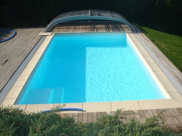 Priprava bazena na kopalno sezono