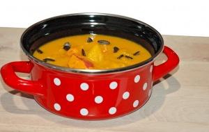 Recept: Bučna juha v Emo kozici