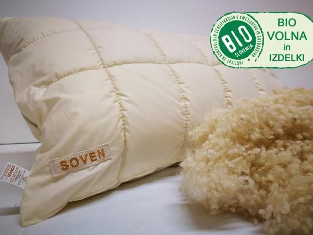 Soven - volnena posteljnina za še večje udobje spanja