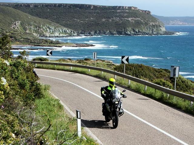 Z motorjem po Sardiniji