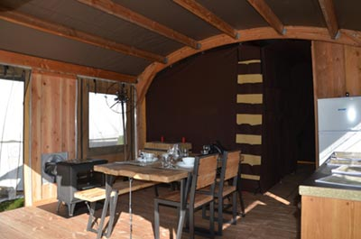 glamping sotor cabanon 2 t