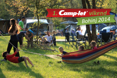 Camp-let vikend Bohinj 2014